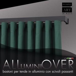Bastoni per tende in Alluminio